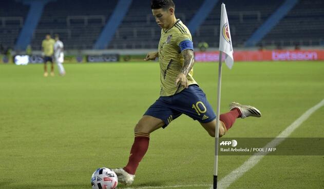 Selección Colombia: James Rodríguez, el guía de la tricolor