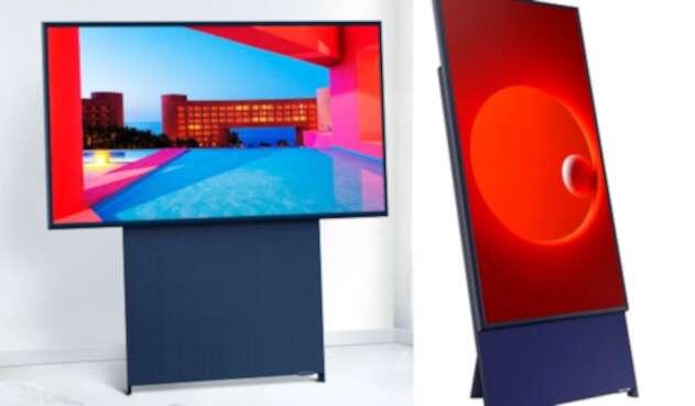 Televisor con pantalla giratoria Sero