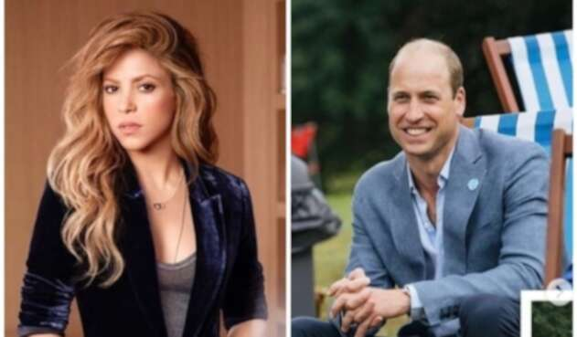 Shakira y William