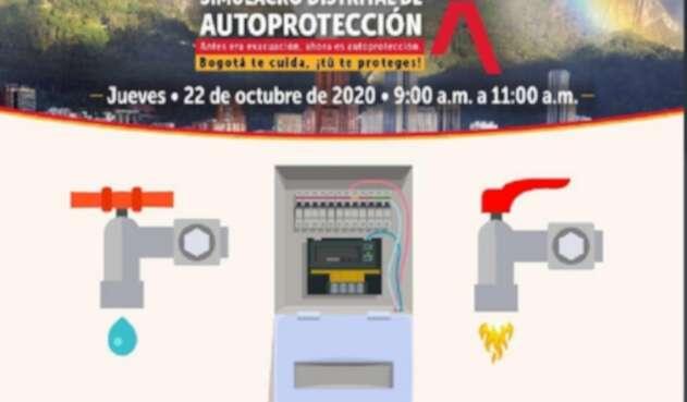 Simulacro de Autocuidado en Bogotá