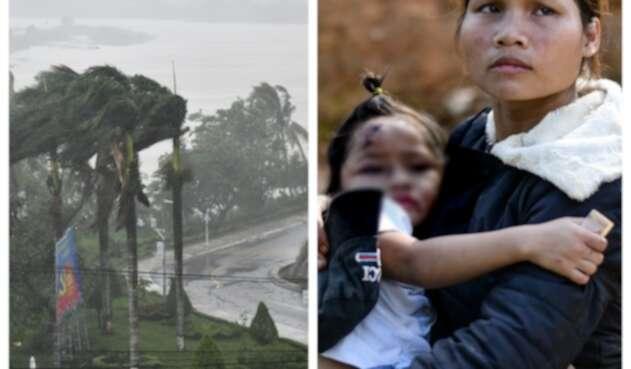 Tifón en Vietnam
