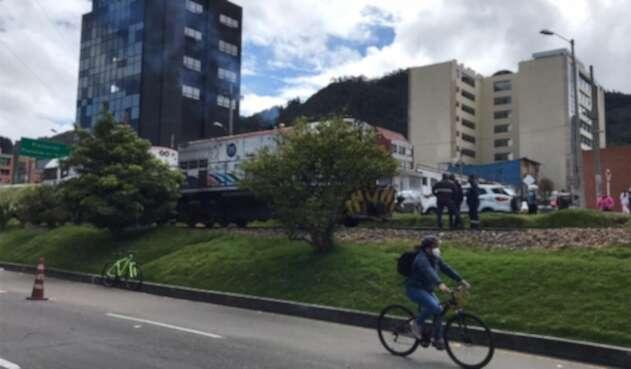 Tren arrolló a dos personas en Bogotá