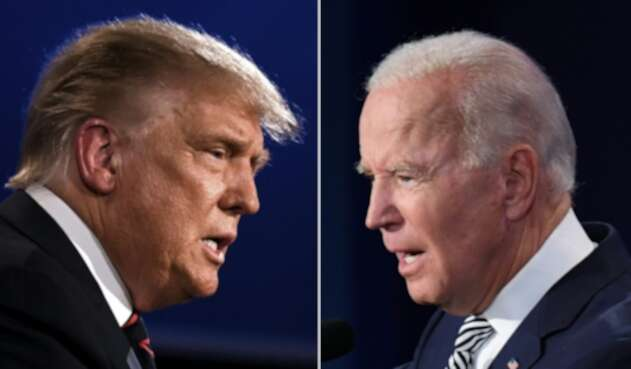 Trump y Joe Biden compiten por la Casa Blanca