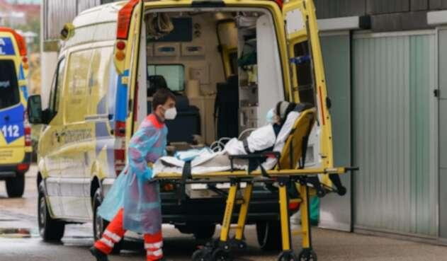 Un médico retira a paciente en Burgos, España