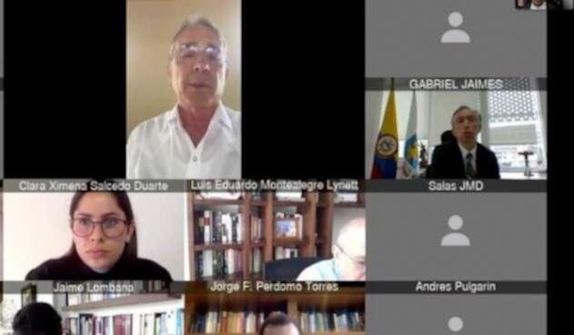 Audiencia a Álvaro Uribe ante juez de garantías