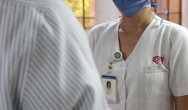 Aplican vacuna de Johnson & Johnson a voluntarios en Fundación Cardiovascular de Colombia.