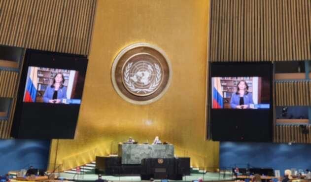 Vicepresidenta Marta Lucía Ramírez, ante la ONU