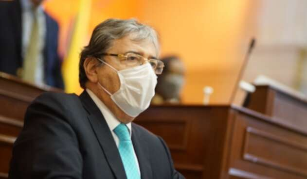 Carlos Holmes Trujillo en el debate de moción de censura