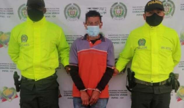 Alias Pacho, fue capturado en el municipio  de San Lorenzo