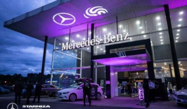 Imagen comercial Mercedes Benz