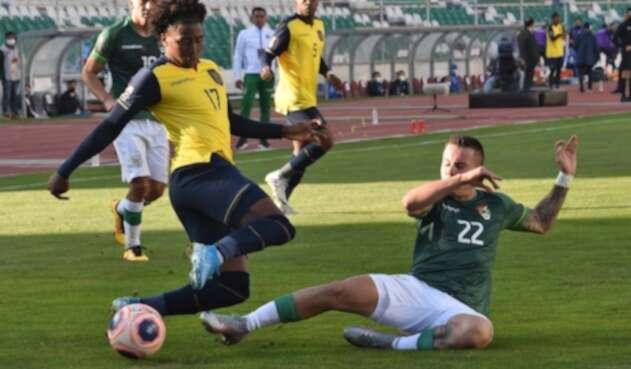 Selección de Ecuador - Selección de Bolivia