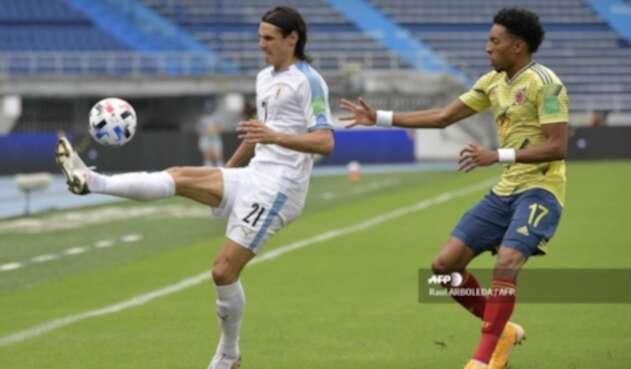 Colombia vs Uruguay - eliminatorias