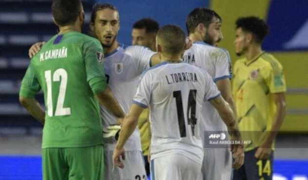 Uruguay vs Colombia
