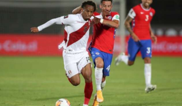 Selección de Chile - Selección de Perú - Eliminatorias