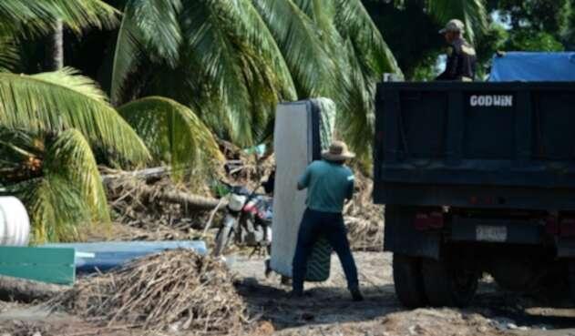 Efectos del huracán Iota en Honduras