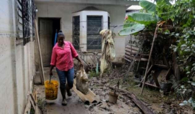 Huracán Iota golpea a Nicaragua