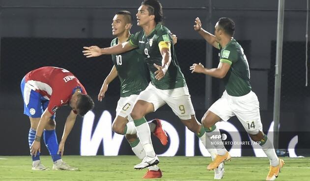 Paraguay Vs. Bolivia - Eliminatorias