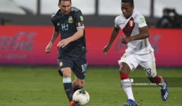 Selección de Argentina - Selección de Perú - Lionel Messi