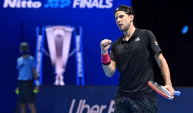 Dominic Thiem vence a Novak Djokovic y avanza a la final de la Copa Masters por segundo año consecutivo
