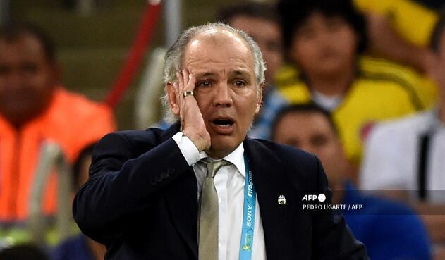 Alejandro Sabella, técnico argentino