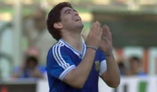 La primera gran decepción de Maradona: subcampeón del mundo en Italia 90