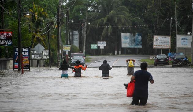 Huracán Eta en Guatemala