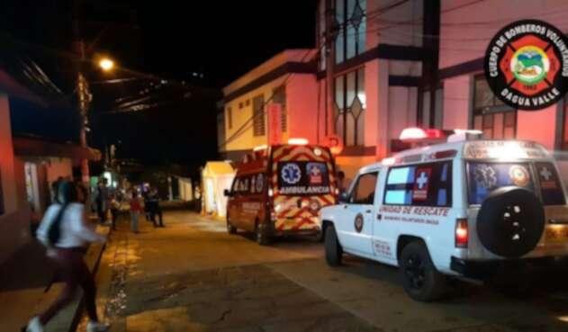 los 18 militares heridos fueron remitidos a centros asistenciales en Cali y Loboguerro.