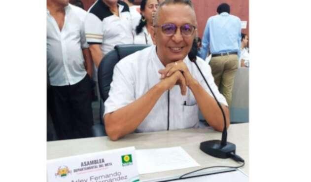 Arley Gómez, diputado del Meta