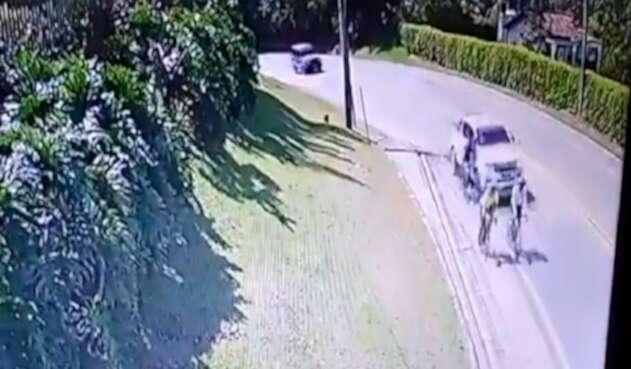 Accidente en La Ceja