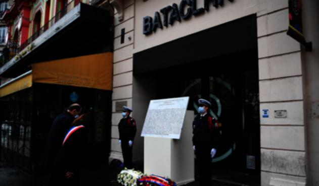 Aniversario atentado en Bataclan