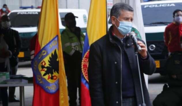 Hugo Acero, secretario de Seguridad de Bogotá