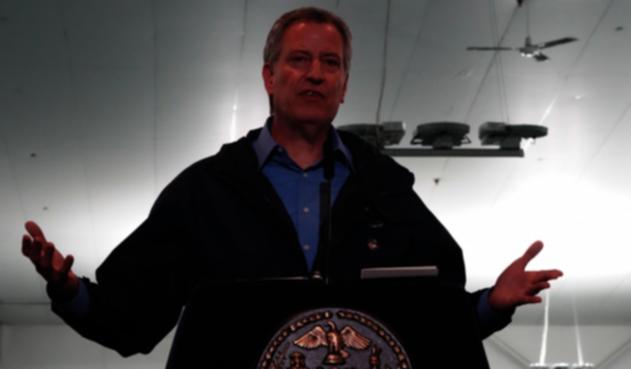 Bill De Blasio, alcalde de Nueva York