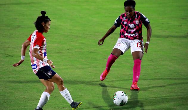 Junior Vs. Santa Fe - Liga Femenina BetPlay