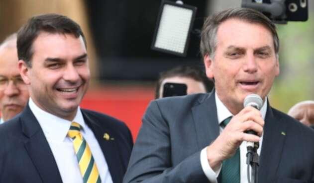 Flavio Bolsonaro, hijo del presidente Jair Bolsonaro