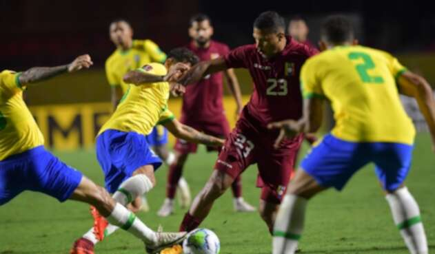Brasil Vs. Venezuela - Eliminatorias