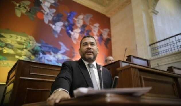 Carlos Chacón, representante liberal