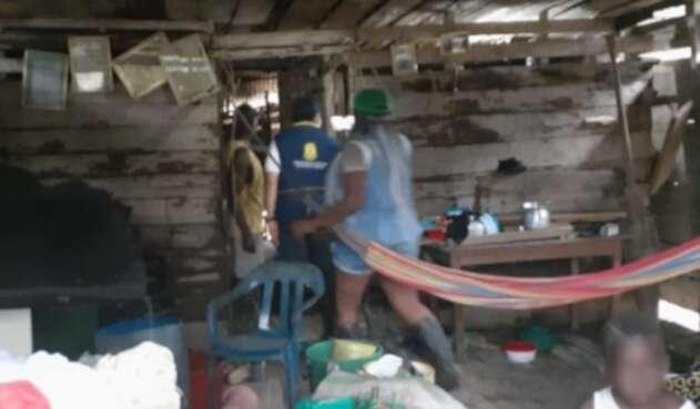 Damnificados en Chocó