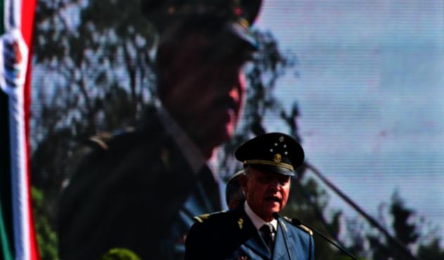 General Salvador Cienfuegos, exsecretario de Defensa de México