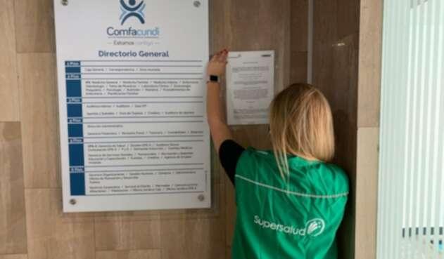 Supersalud ordenó la liquidación del programa de salud de Comfacundi