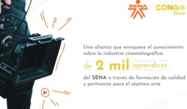 El SENA tiene aliados en el sector audiovisual con los que implementa la política de economía naranja.
