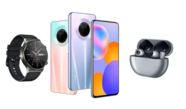 Dispositivos inteligentes de Huawei