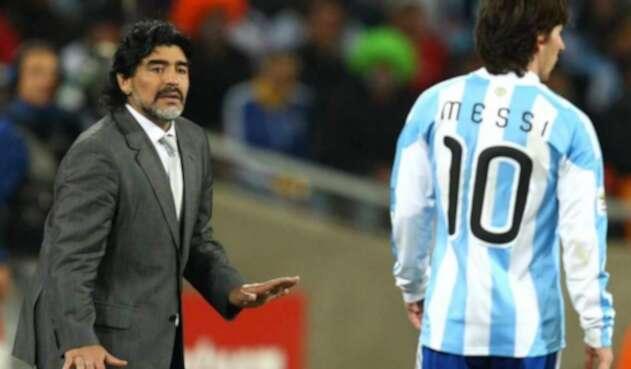 Maradona técnico selección Argentina