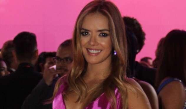Elianis Garrido, actriz y modelo colombiana.