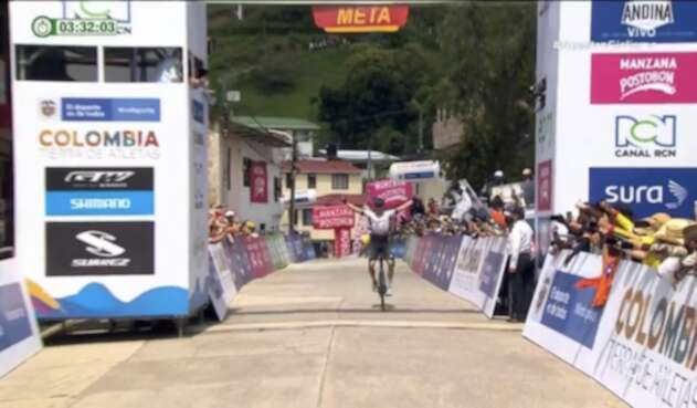 Vuelta a Colombia, etapa 2 - Alexánder Gil