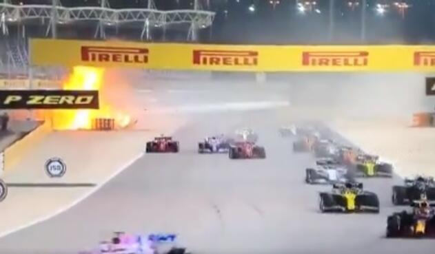Accidente Fórmula 1