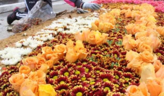 Fiesta de Flores en Madrid