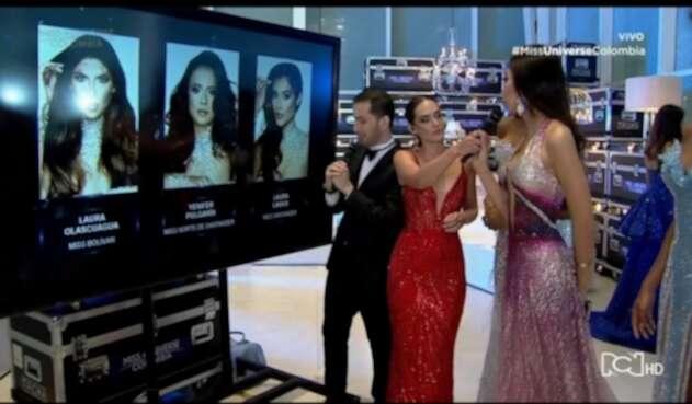 Tres finalistas Miss Universe