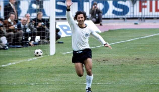 Gerd Müller, exjugador de la Selección de Alemania