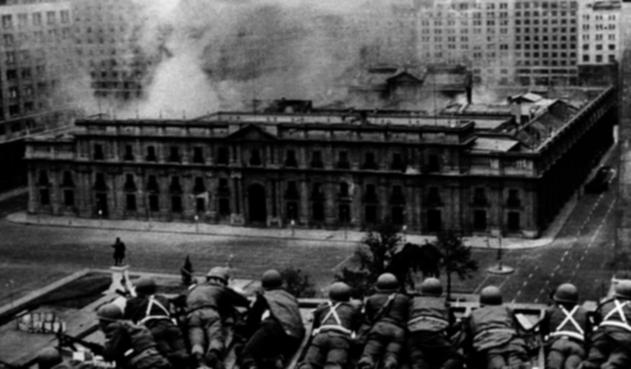 Golpe de Estado en Chile liderado por Augusto Pinochet contra Salvador Allende