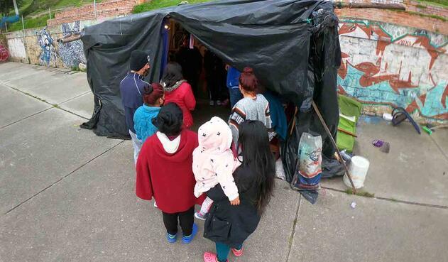 Al menos 30 familias se encuentran afectadas en Ciudad Bolívar por las lluvias